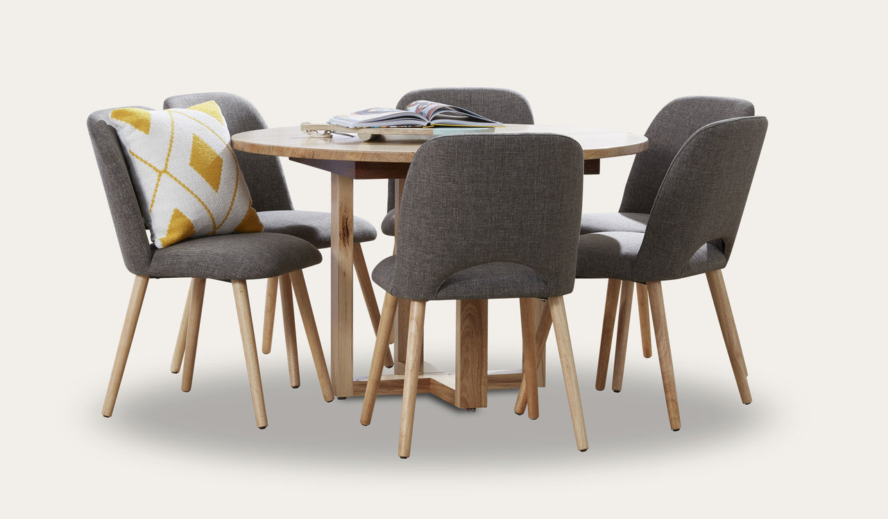 Hover Round Chairs Kennedy Round Dining Suite With Alice Chairs