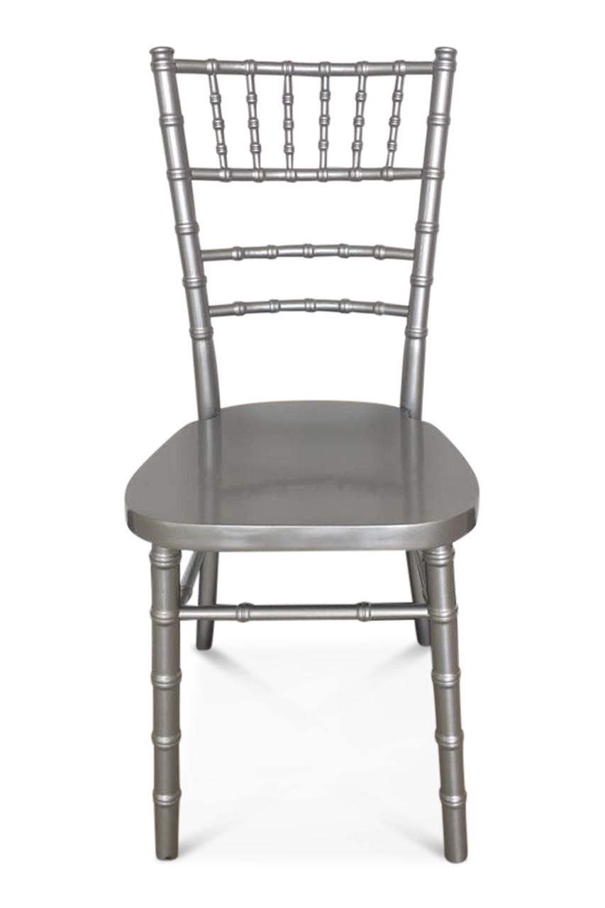 Silver Chiavari Chairs Chiavari Chair Silver Curved Back Excl Seat Pad