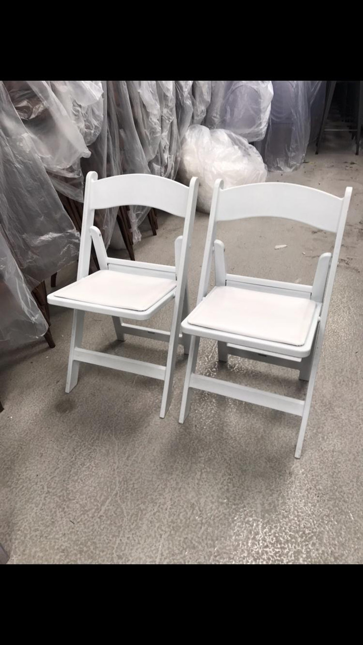 Resin Chairs Used Folding Resin Chairs White