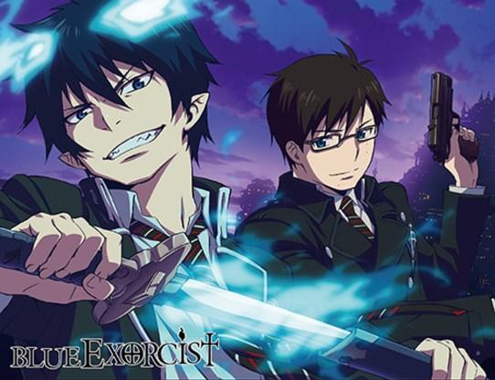 anime similar to Kimetsu no Yaiba - Blue Exorcist