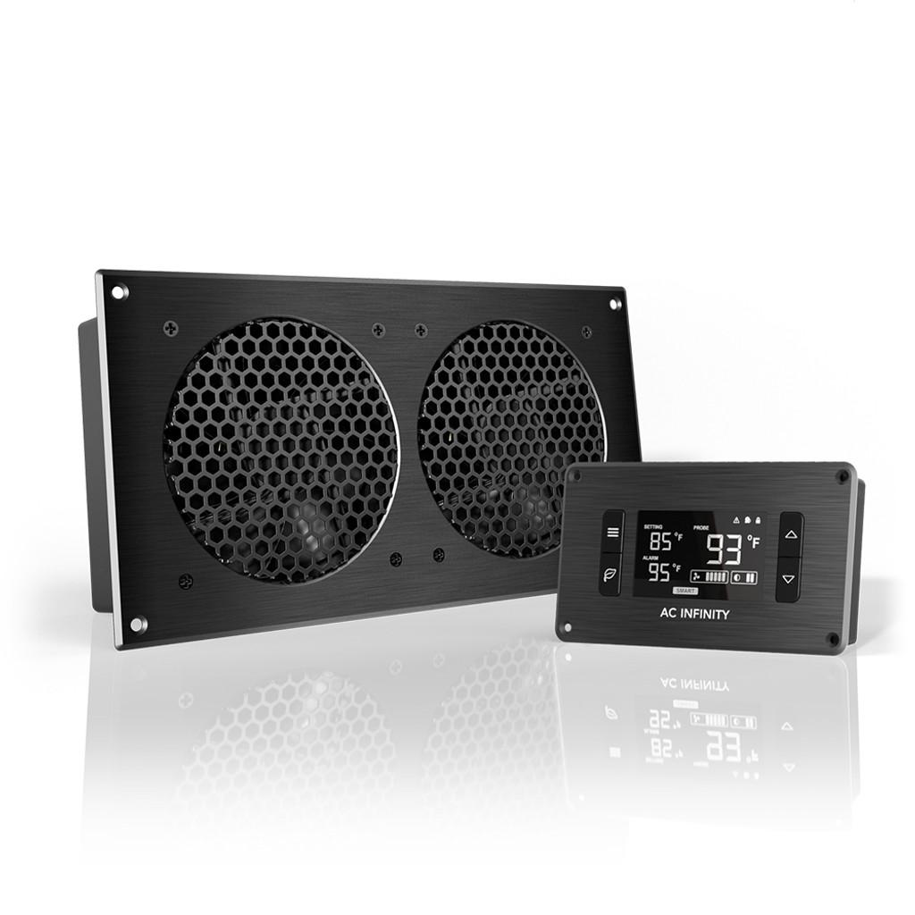 home theater entertainment center av cabinet cooling fan [ 1000 x 1000 Pixel ]