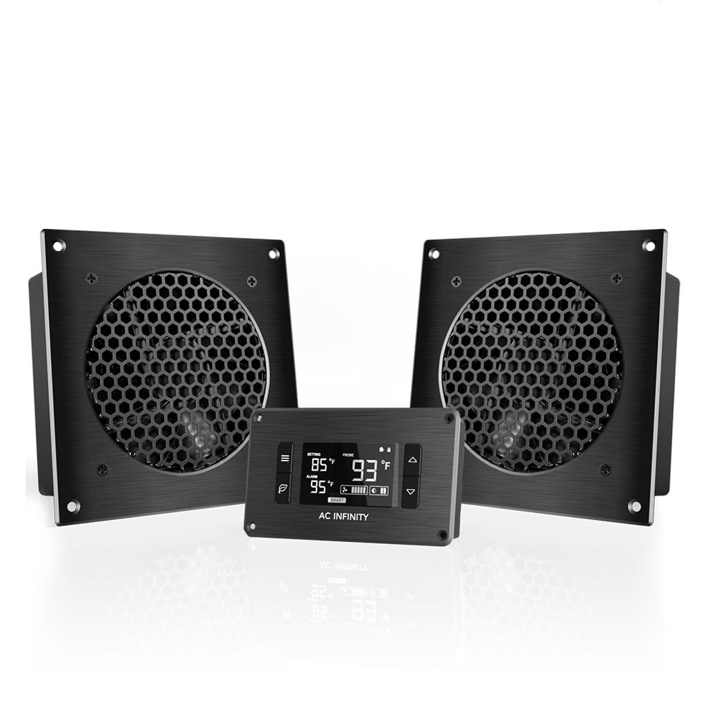 hight resolution of home theater entertainment center av cabinet cooling fan