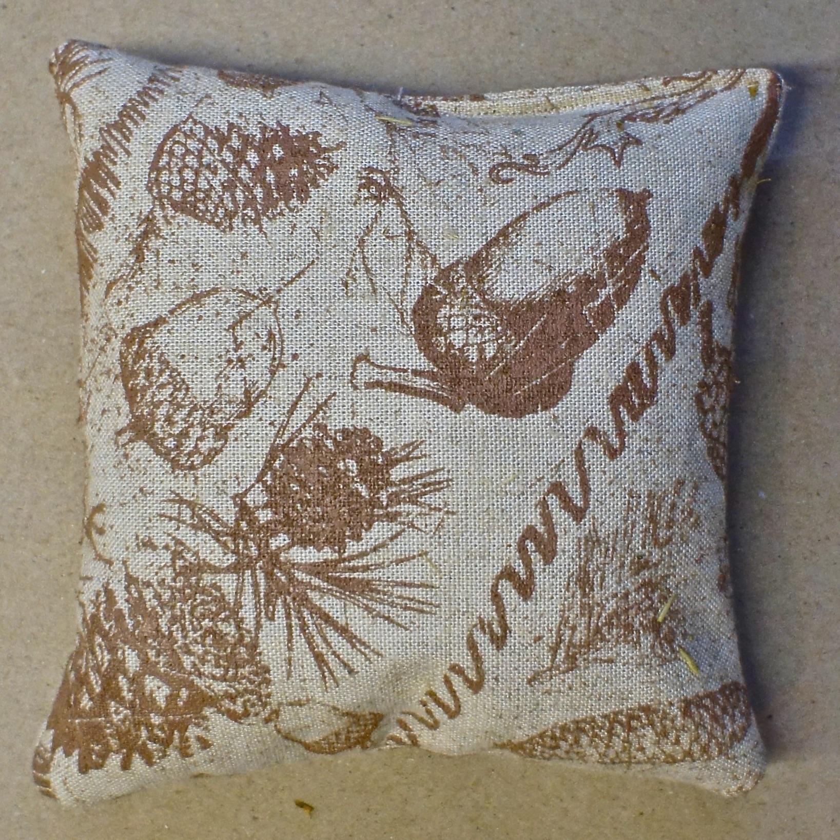 balsam fir pillows pine cones
