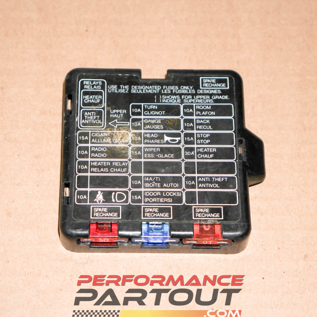 hight resolution of fuse box cover interior 90 94 dsm performance partoutfuse box cover interior 90 94 dsm