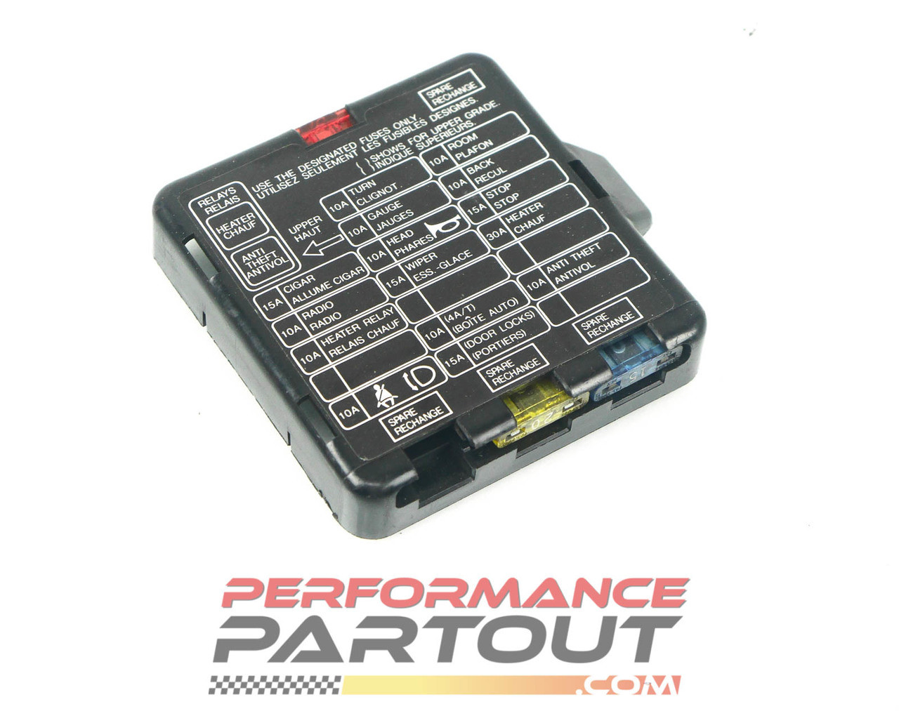 medium resolution of fuse box cover interior 90 94 dsm performance partout this is a fuse box cover from 90