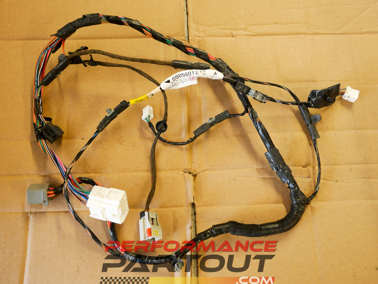 hight resolution of door wiring harness passenger right front magnum charger 300 05 07 performance partout