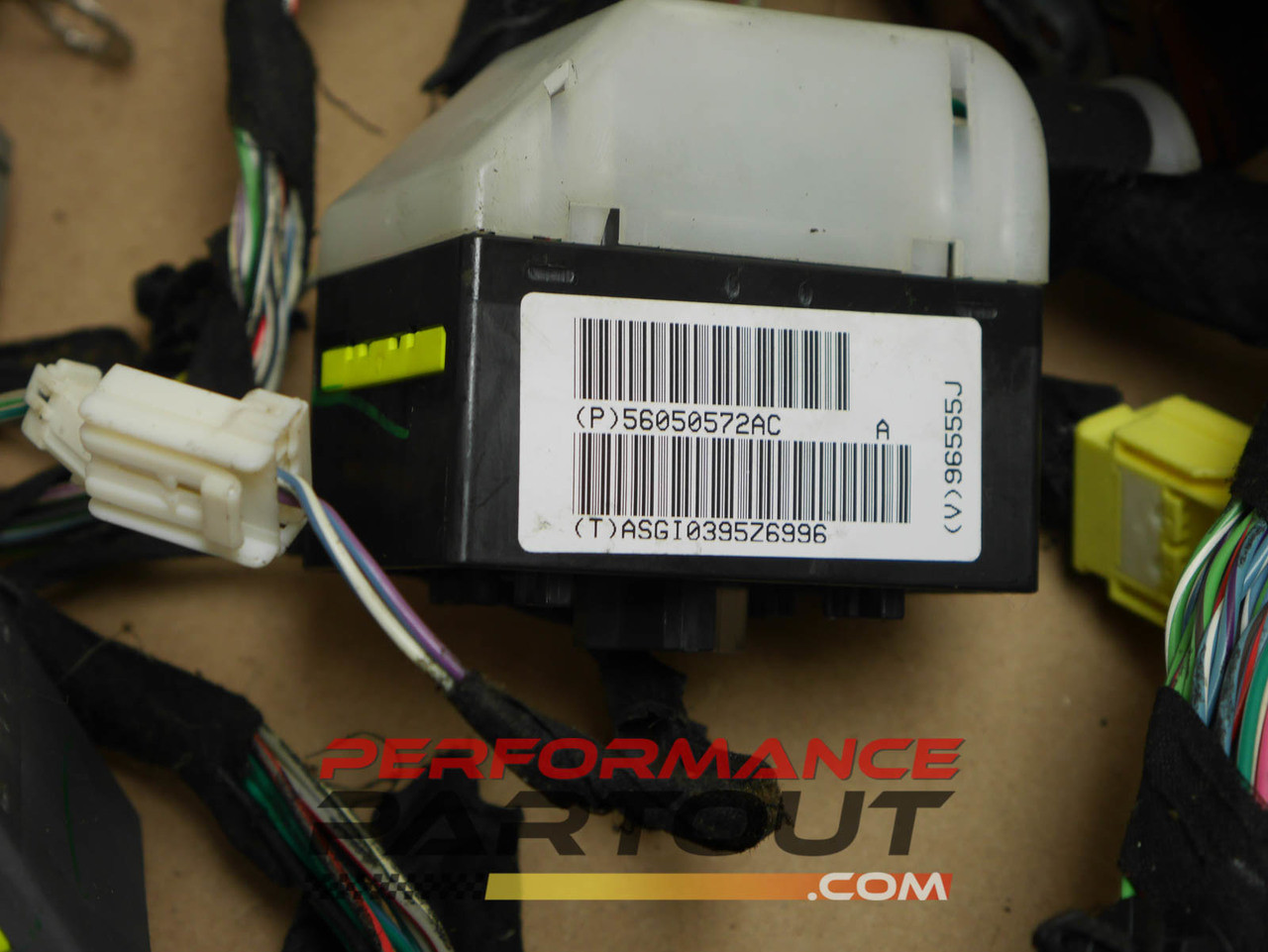 hight resolution of under dash wiring harness jeep grand cherokee 56050572ac