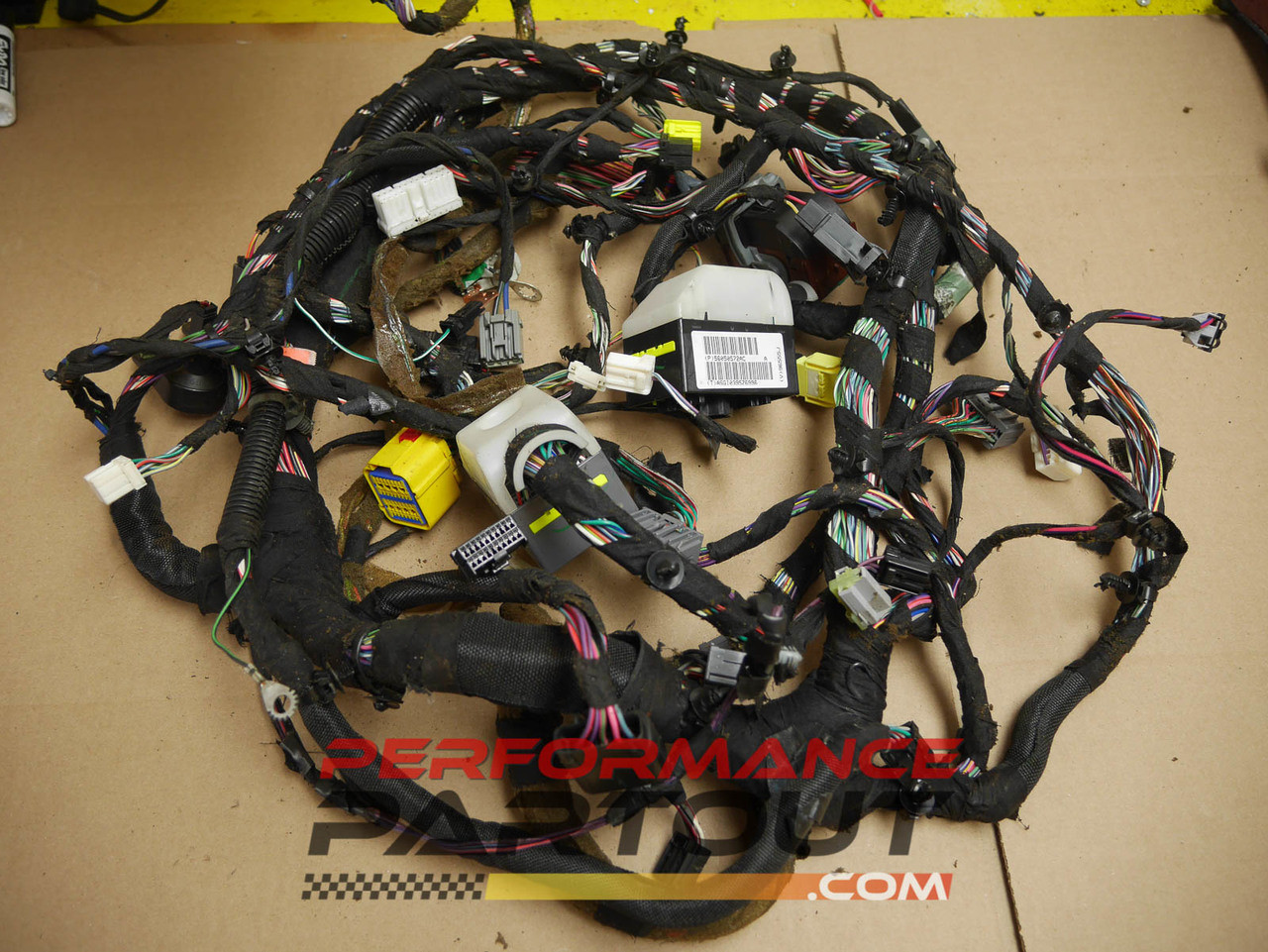 hight resolution of under dash wiring harness jeep grand cherokee 56050572ac performance partout