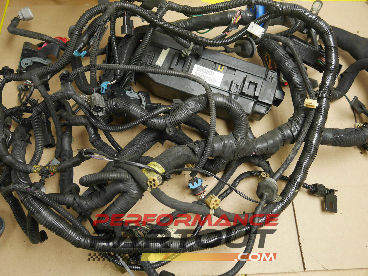 small resolution of front end chassis body harness fuse box 2005 jeep grand cherokee56050195af