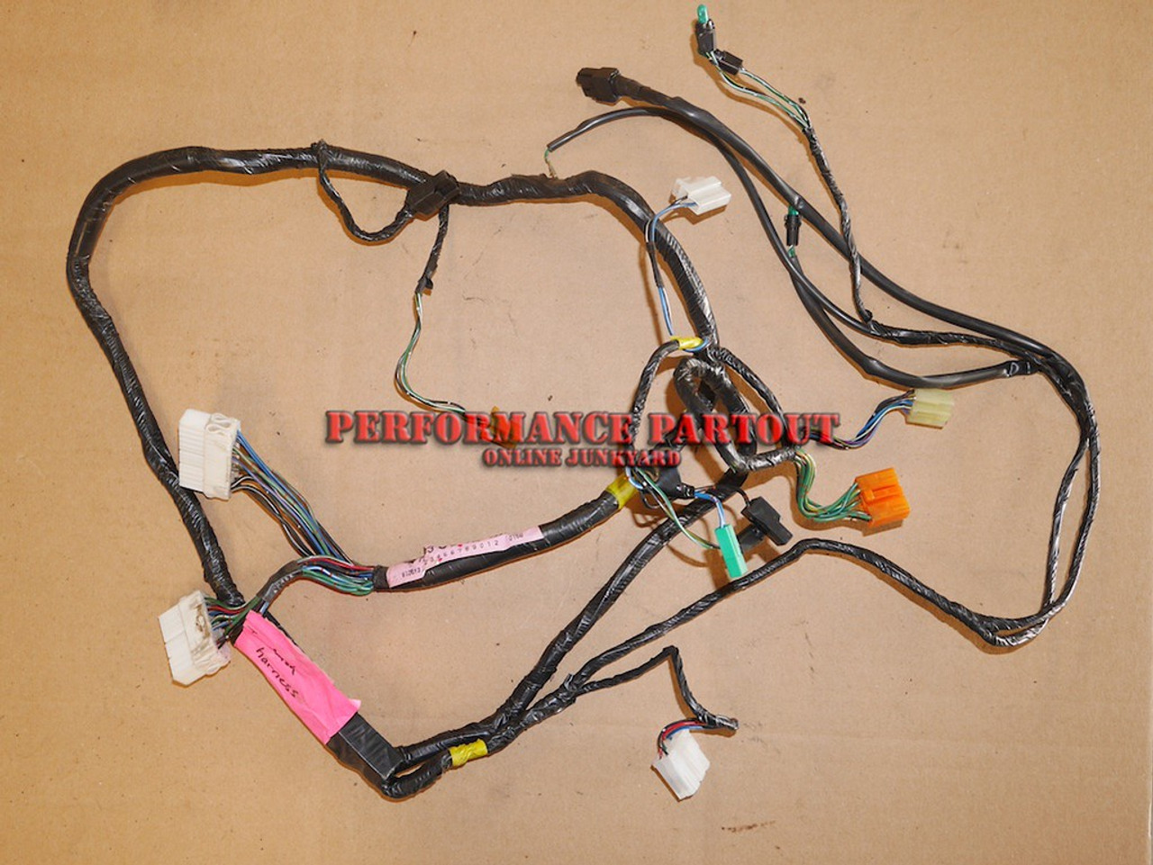 hight resolution of dashboard wiring harness galant vr4dashboard wiring harness 18