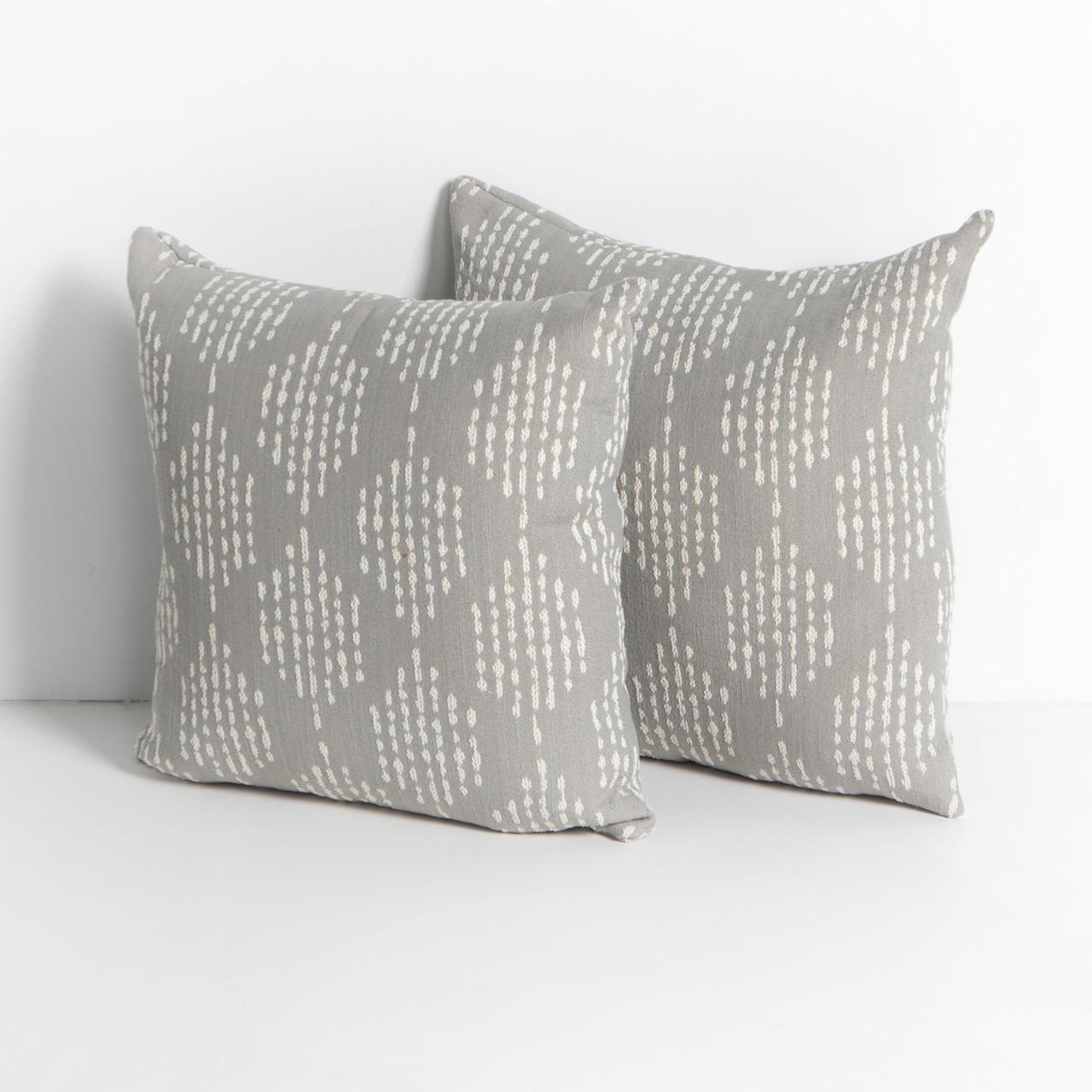 peri outdoor pillows set of 2 stone