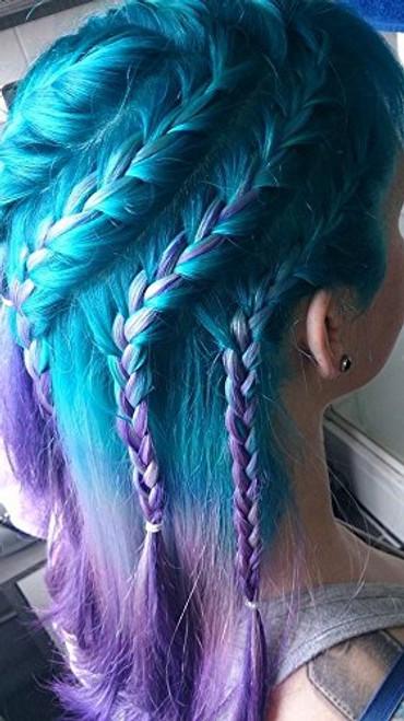 arctic fox hair color aquamarine