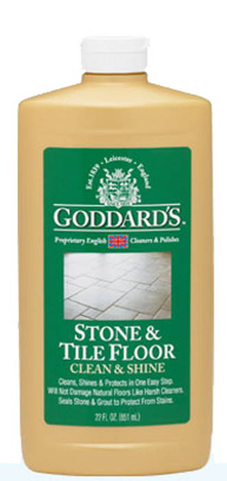 goddard s stone tile floor clean shine