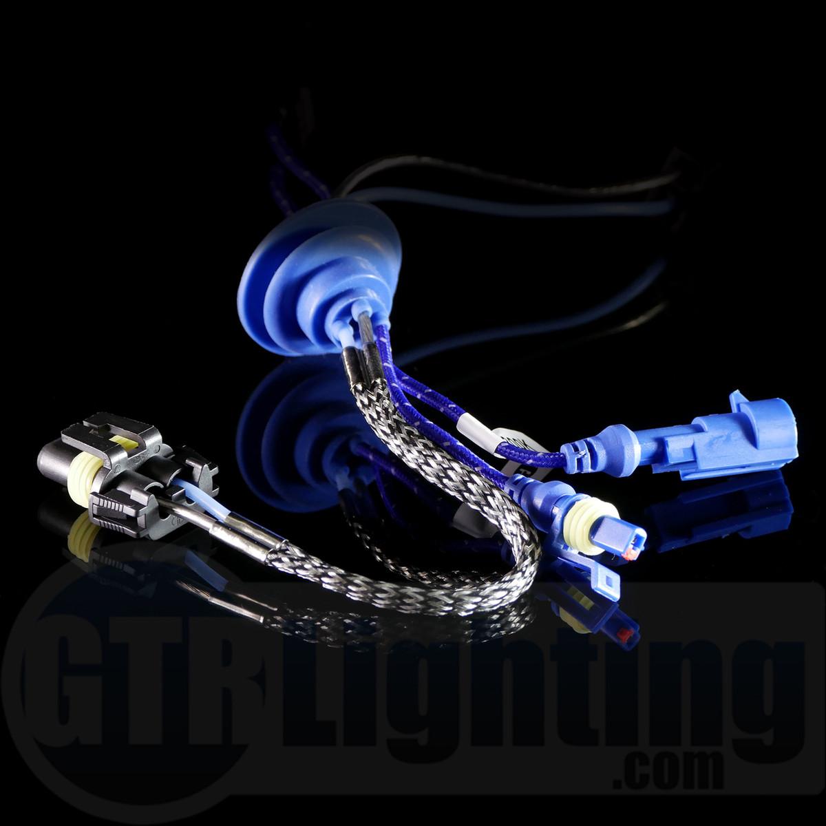 hight resolution of  gtr lighting 35w 55w single beam replacement hid bulbs h7 pair
