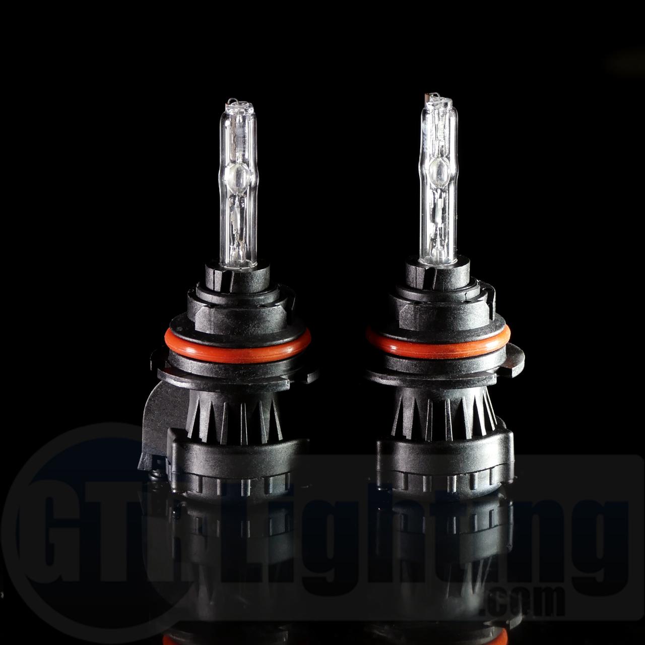 headlight lens gtr lighting 35w 55w dual beam hid bulbs  [ 1280 x 1280 Pixel ]