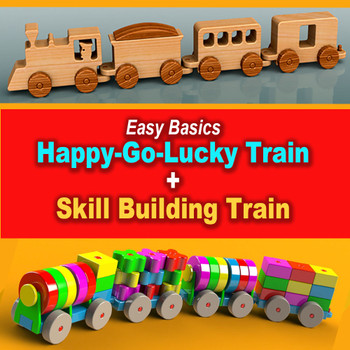 Trains Wood Toy Plans