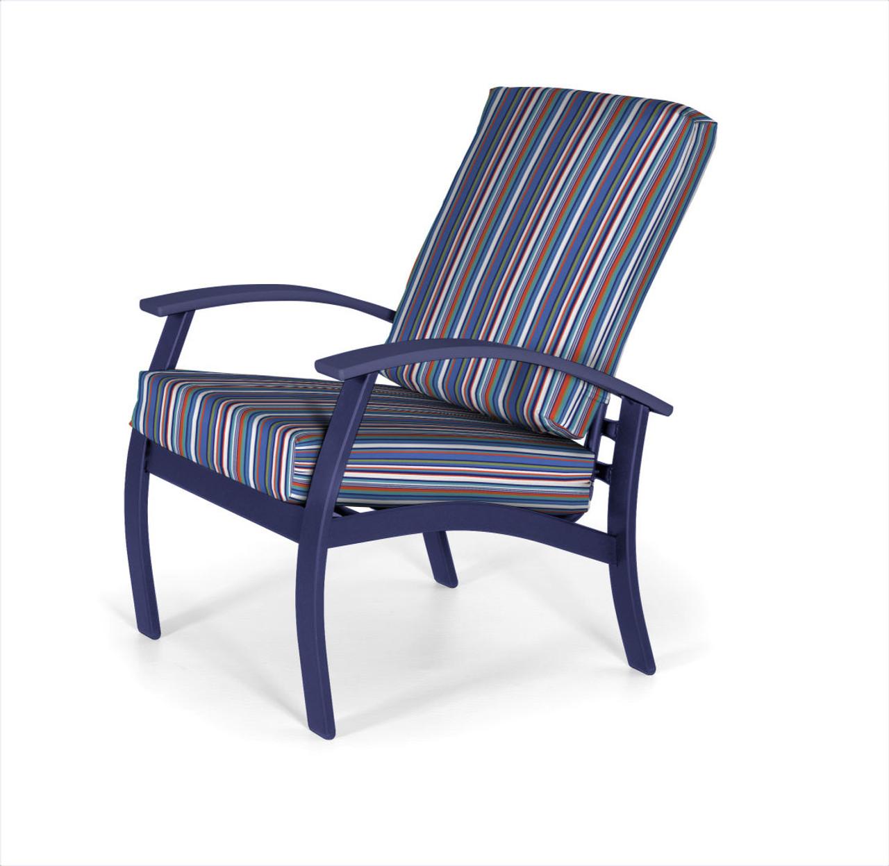 belle isle cushion arm chair by telescope