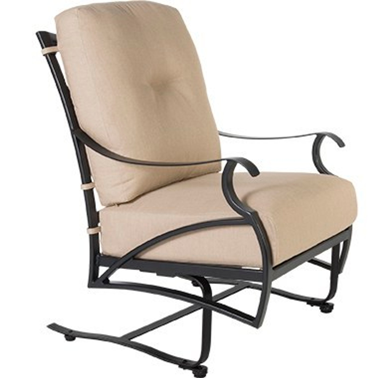 belle vie spring base lounge chair by ow lee
