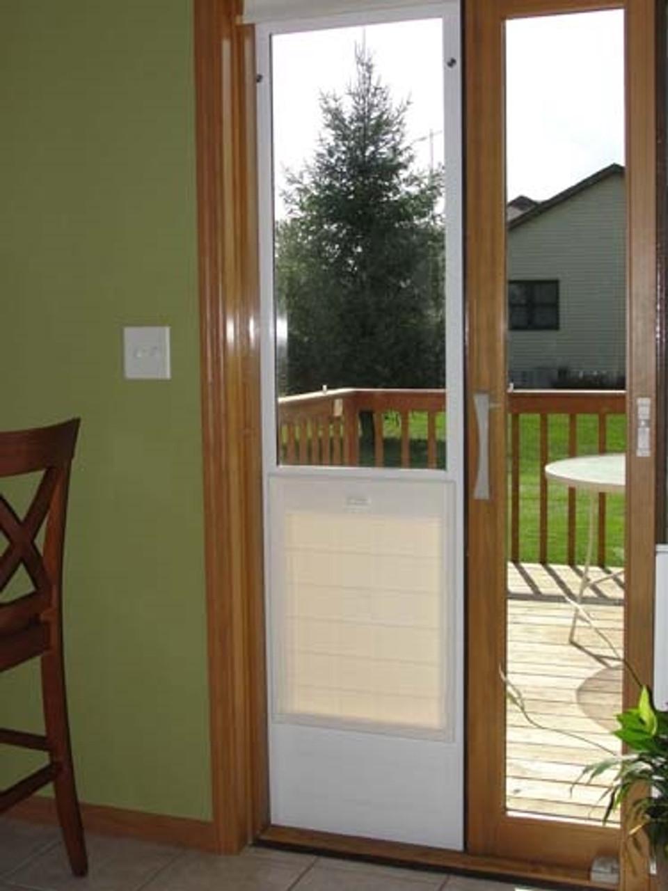 ideal fastfit patio pet door insert