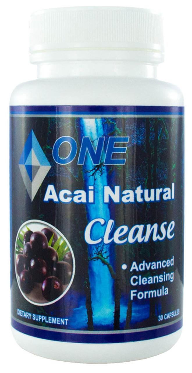 Acai Natural Cleanse 30 Capsules - Silver Solution USA LLC