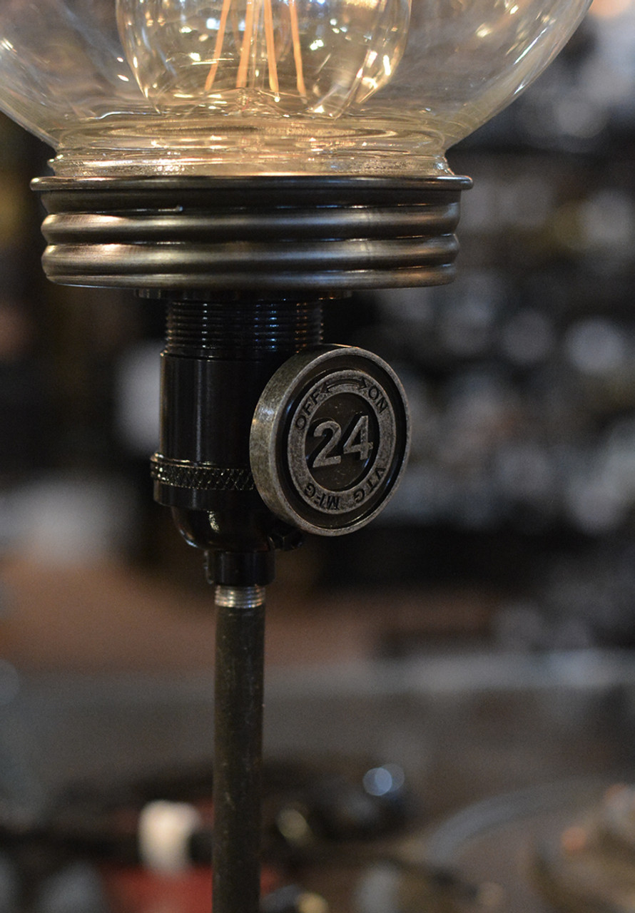 Dimmer Knob : dimmer, Dimmer, Antique, Brass