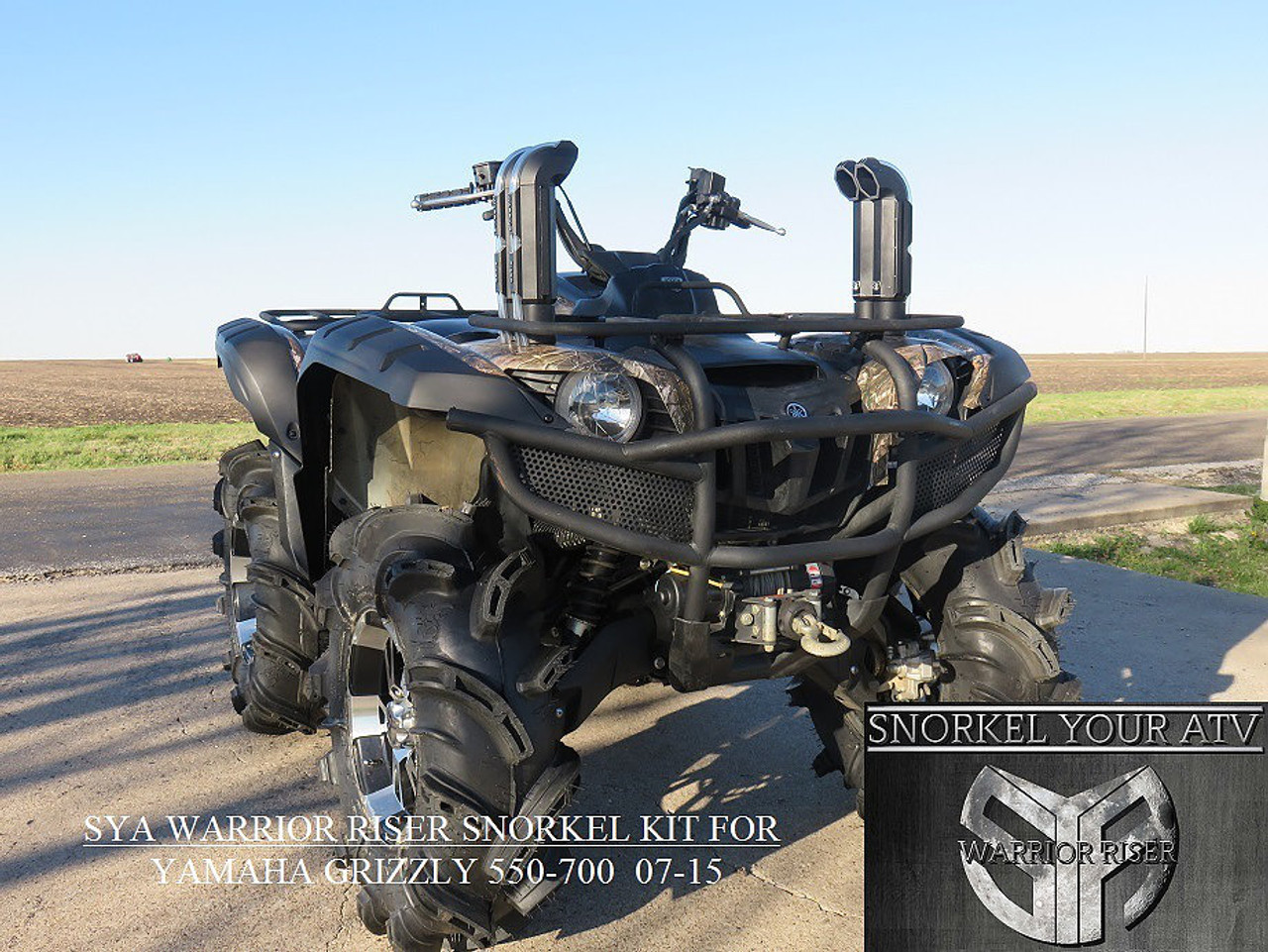 hight resolution of  yamaha grizzly 700 sya warrior snorkel kit add to cart buy