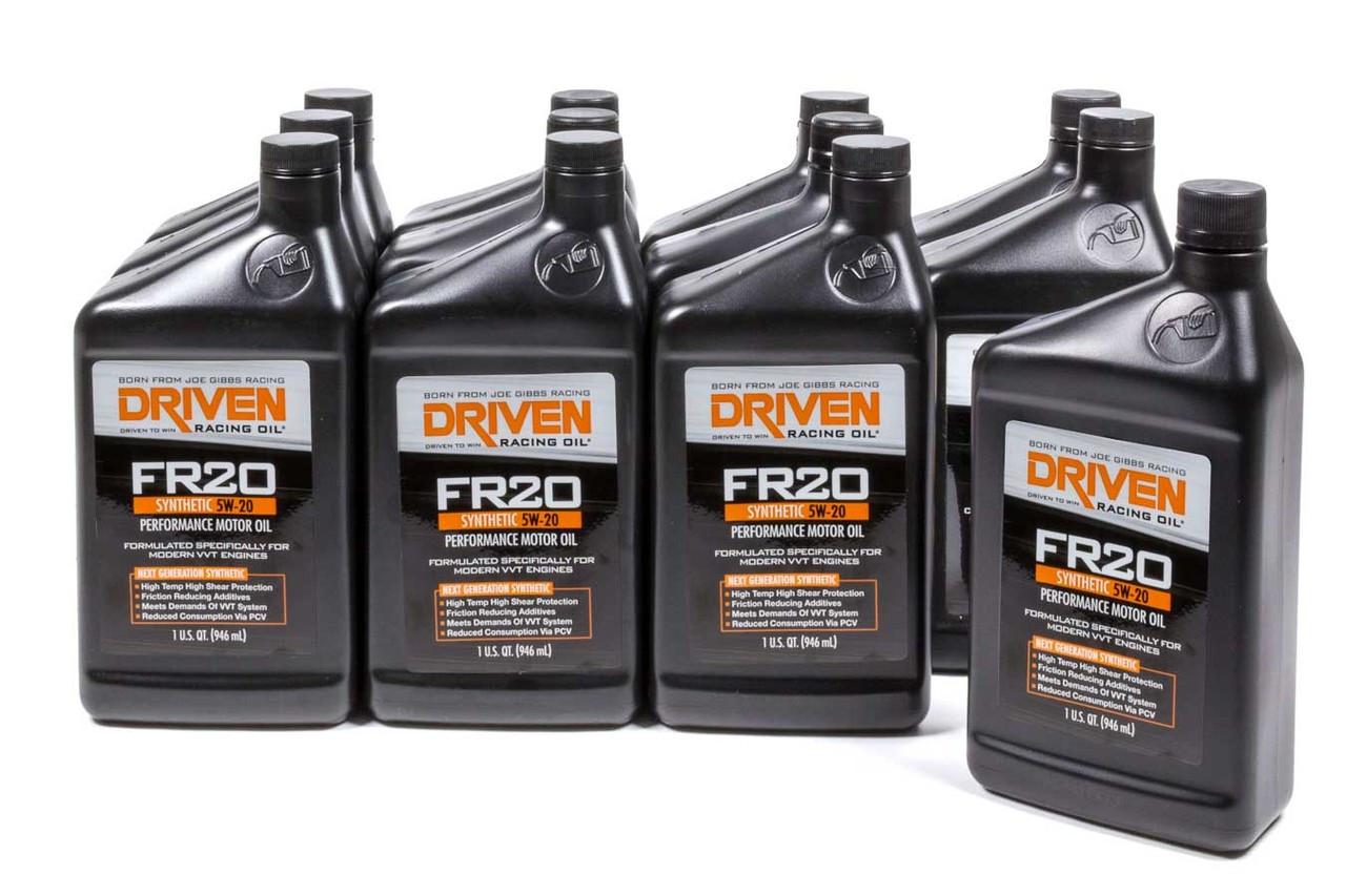 fr20 5w 20 synthetic oil case of 12 quarts jgp03006 12 driven racing [ 1280 x 853 Pixel ]