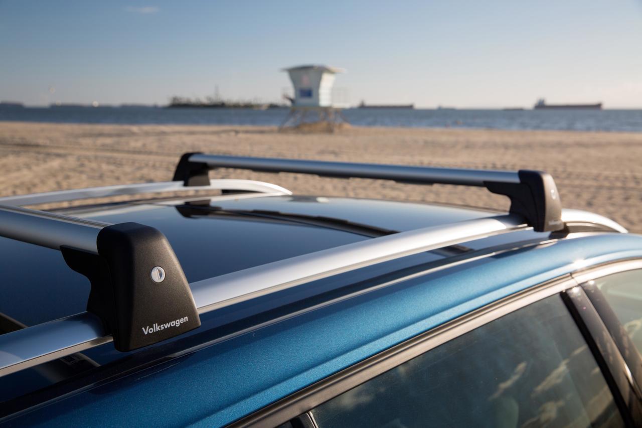 2015 2019 vw golf sportwagen roof rack bars g046