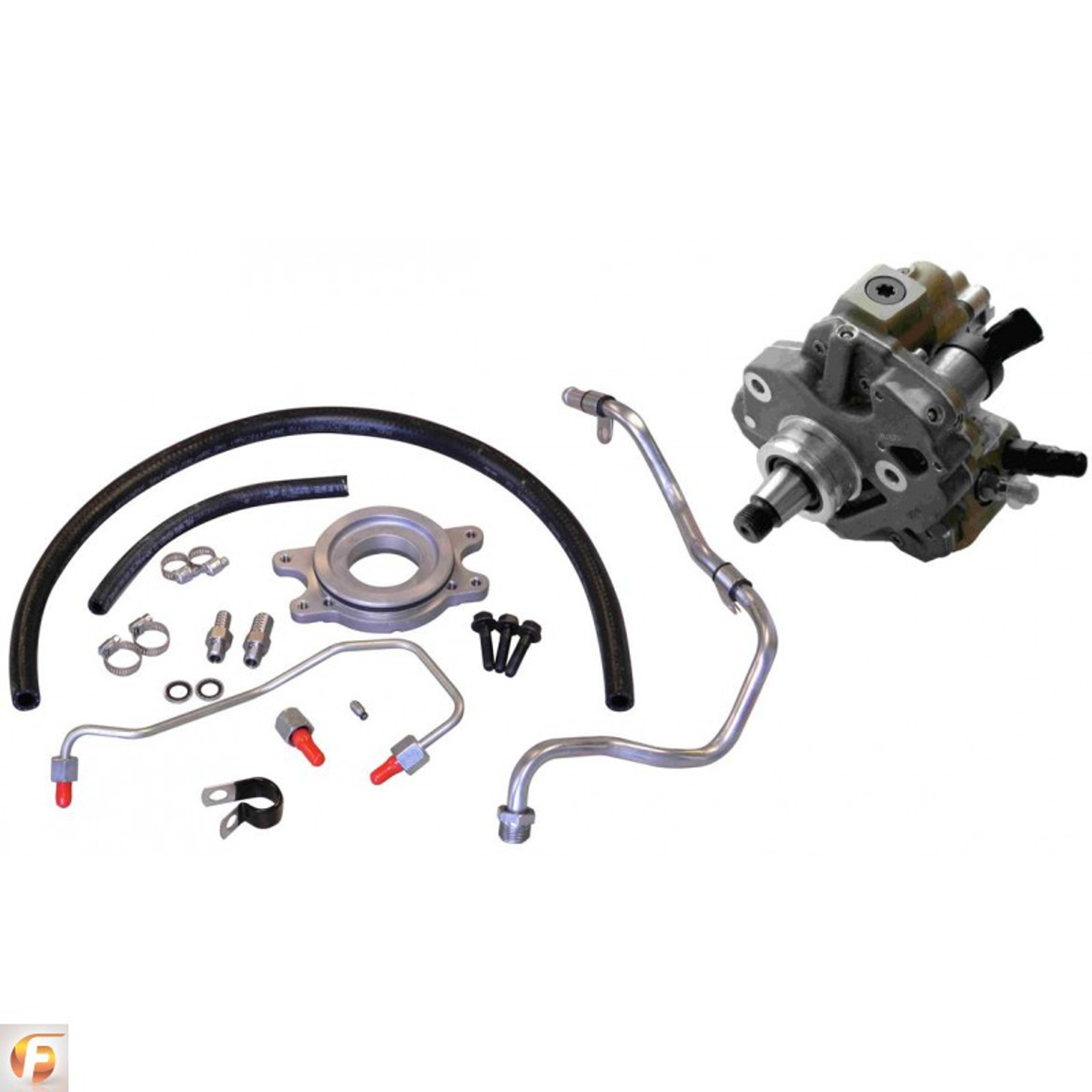 small resolution of 11 16 gm 2500 3500 duramax lml fleece cp3 conversion kit with cp3k pump beans diesel performance