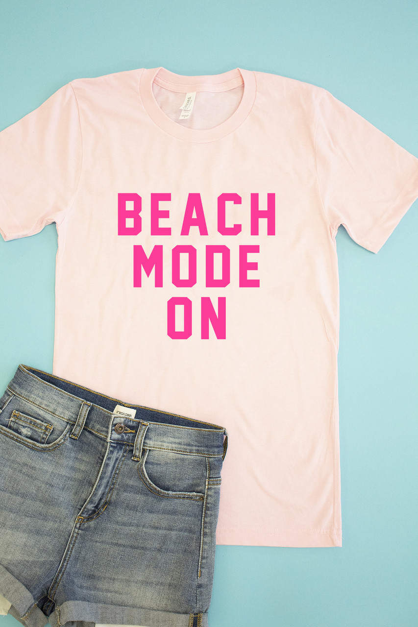 beach mode on graphic
