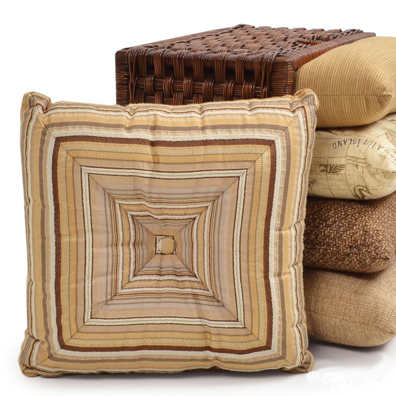 outdoor wedge toss pillow