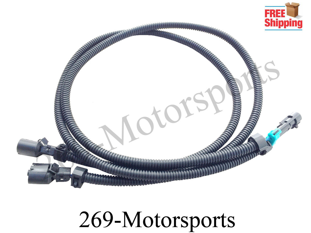 medium resolution of knock sensor extension wiring harness for ls1 ls6 to ls2 conversion adapter gm