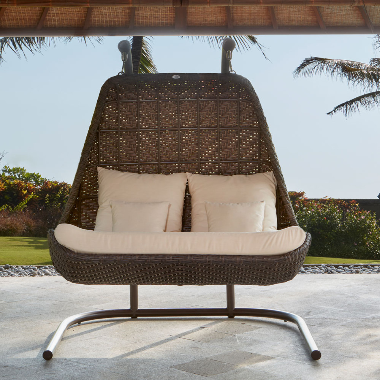 celeste double hanging chair