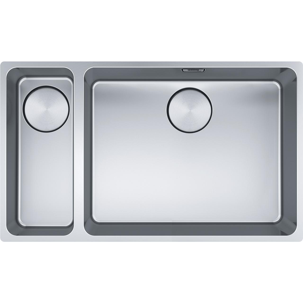 franke mythos myx 160 50 16 stainless steel sink