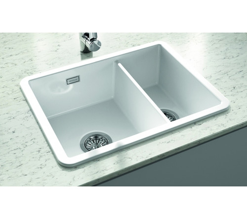 buy undermount kitchen sink island cart target sinks in ceramic stainless steel copper granite thomas denby metro 1 5 bowl