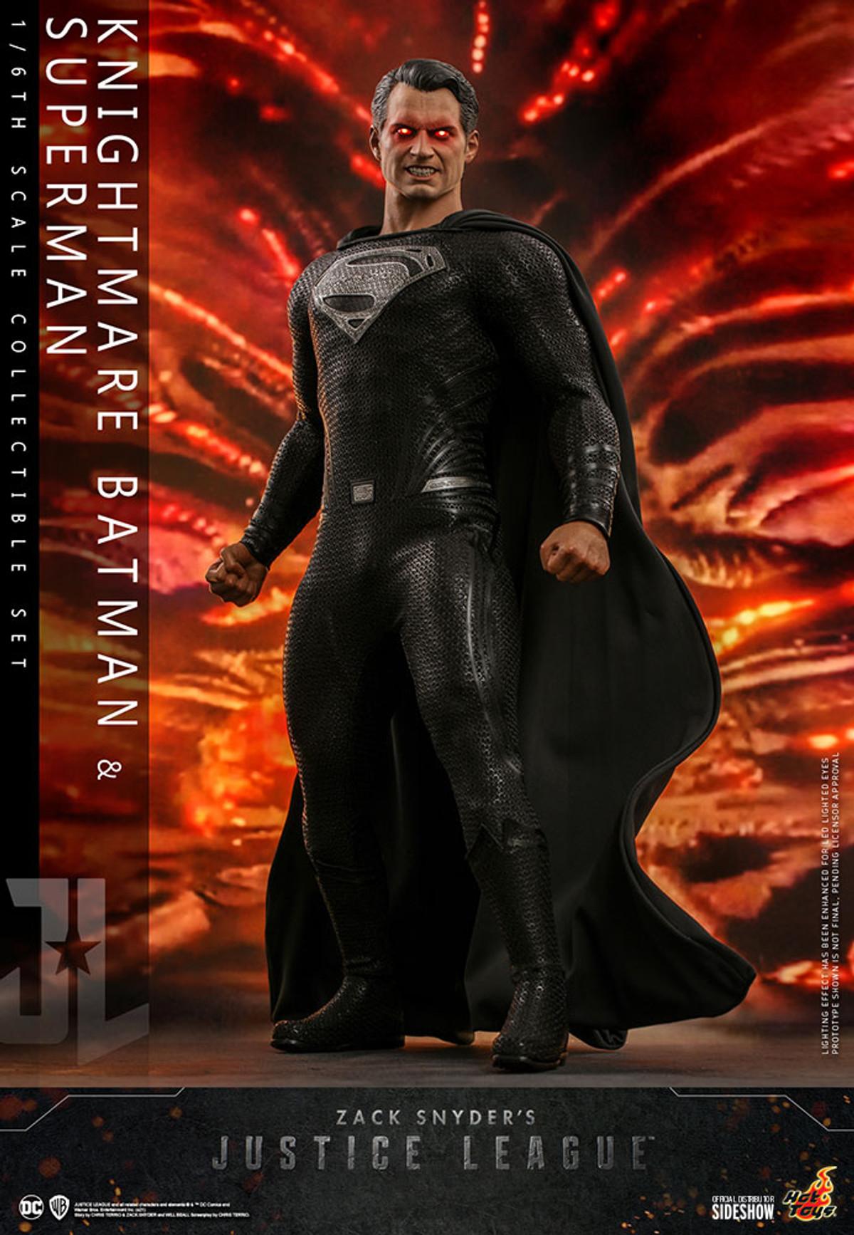 Hot Toys Justice League Superman : justice, league, superman, Justice, League, Knightmare, Batman, Superman