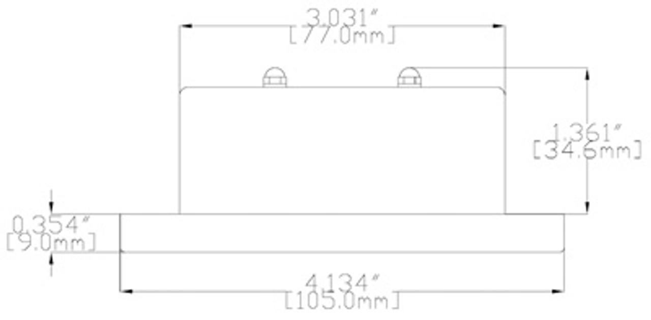 medium resolution of  t105 led recessed down light 4