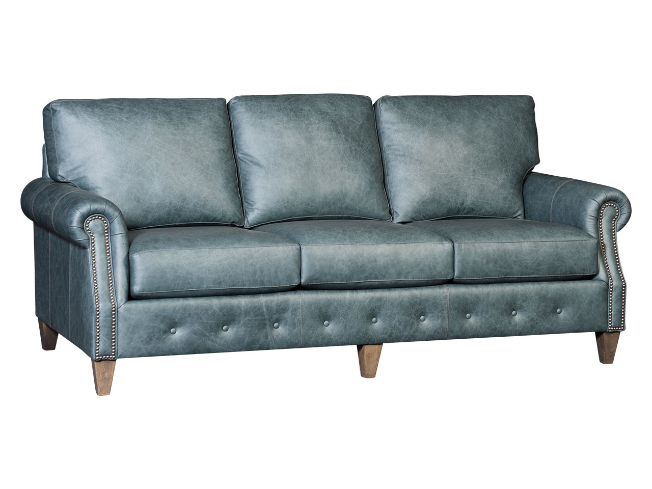 tufted leather sofa cheap furniture protectors for sectional sofas base by mayo traditional in