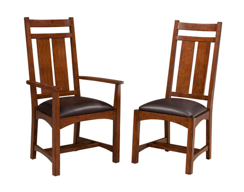 vintage oak dining chairs folding beach costco furniture kitchen page 1 park wide slat side chair and narrow style options allow for