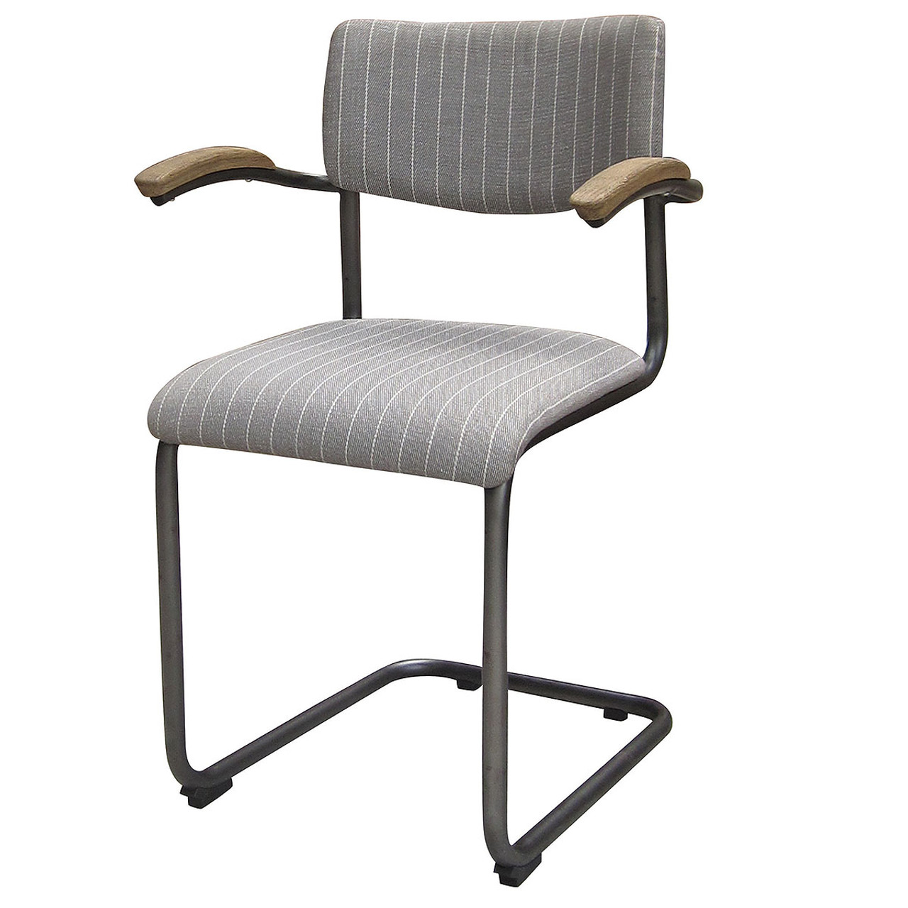 S Shaped Chair Airporter Dining Chair Grey