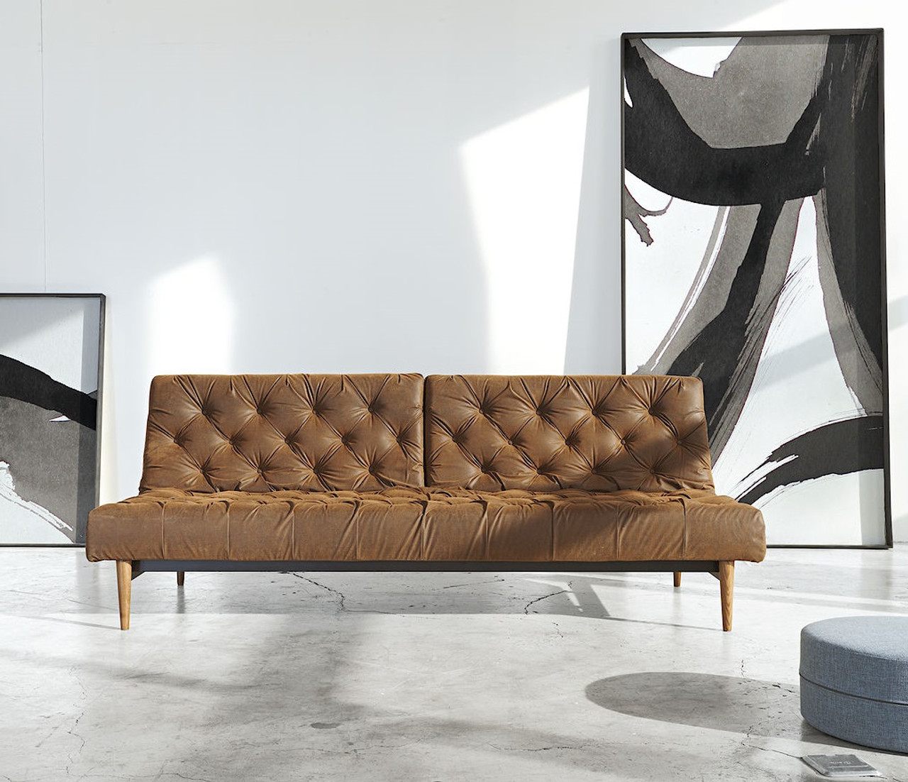 Innovation Sofas Supreme Deluxe Excess Queen Sofa Bed By Innovation