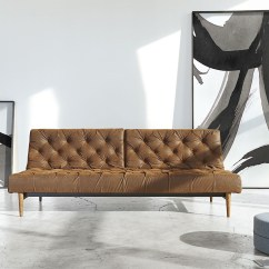 Twin Sofa Bed Leather Lounge Designs India Oldschool Vintage Chesterfield Zin Home Innovation Usa Sleeper