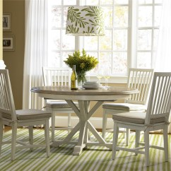 White Washed Oak Dining Table And Chairs Chair Covers Ebay Uk Coastal Beach Round Expandable 54 Zin Home