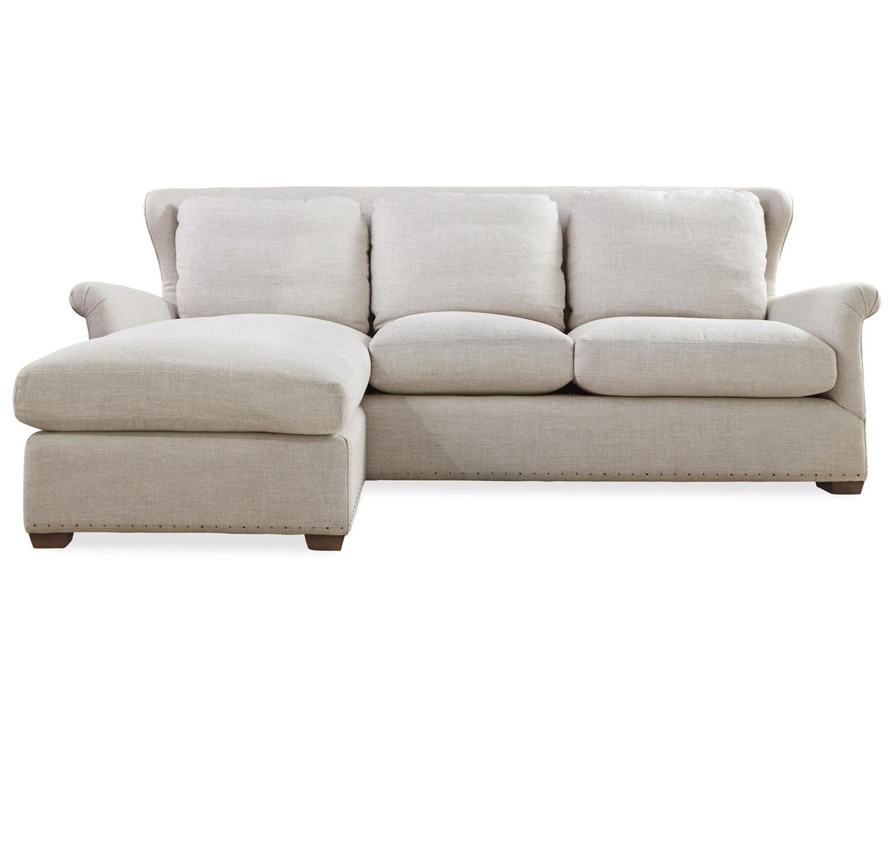 belgian linen sofa woodland imports metal rectangular console and table haven upholstered wingback sectional zin home chaise