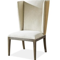 Vintage Oak Dining Chairs Small Comfortable Chair Playlist Upholstered Host Zin Home