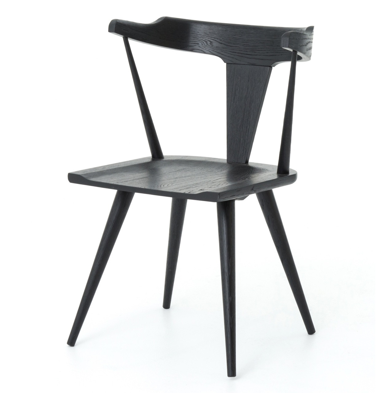 Windsor Chairs Black Ripley Black Oak Windsor Dining Chair
