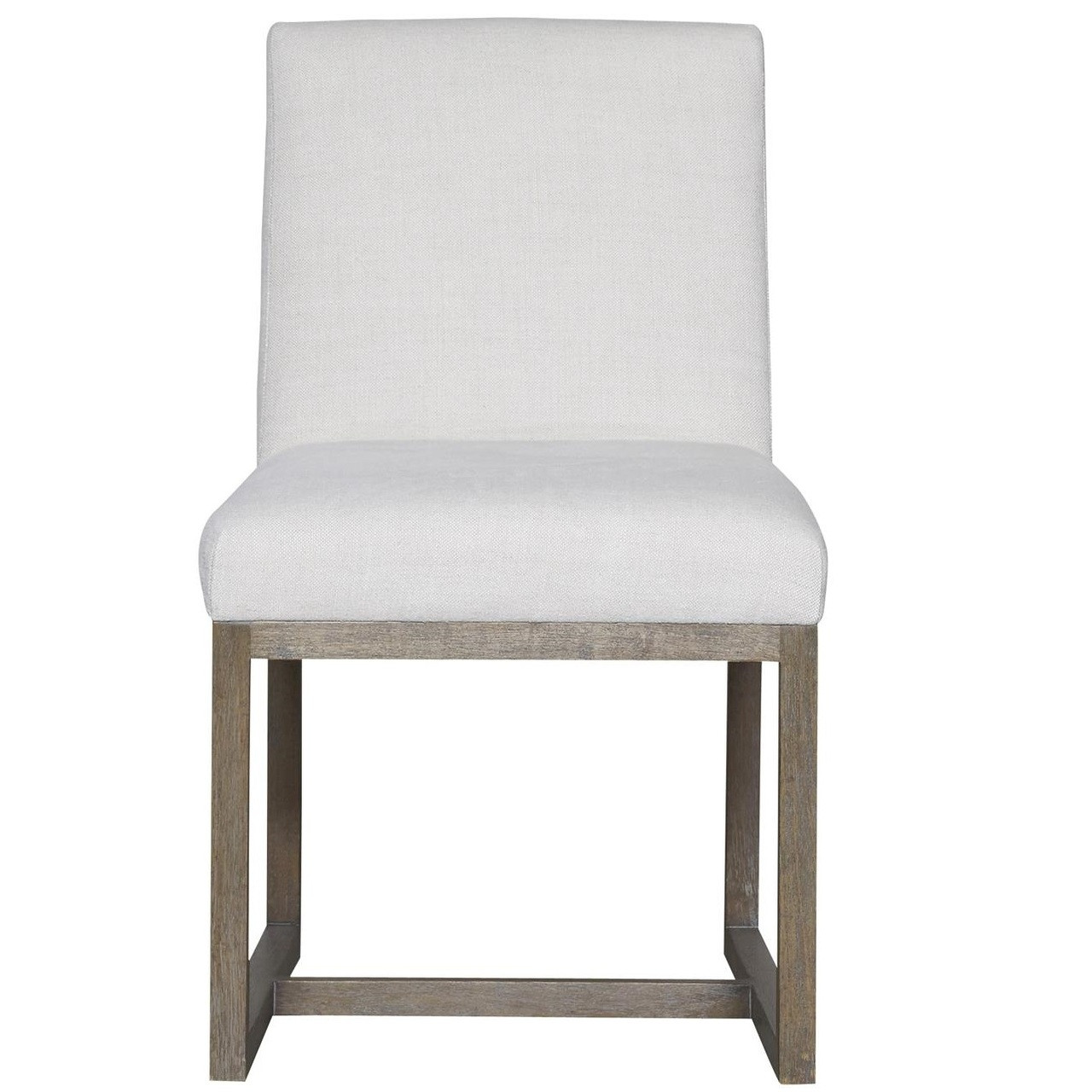 Upholstered Living Room Chairs Jamison Belgian Linen Upholstered Modern Dining Chair