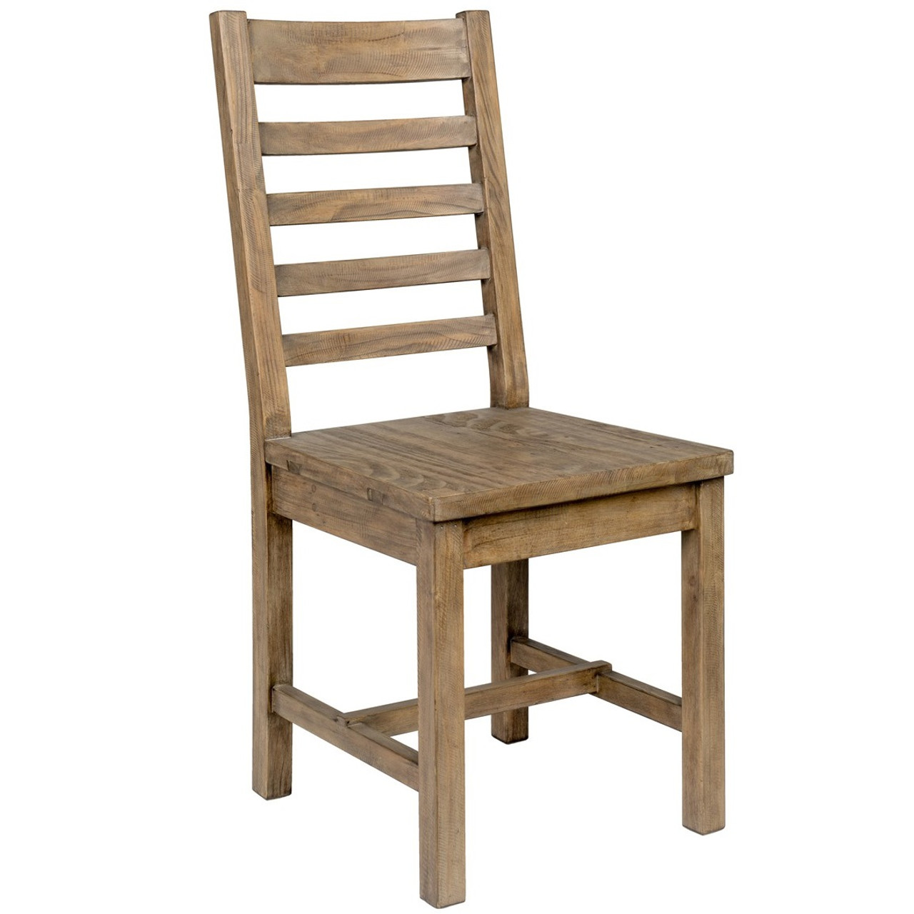 ladderback dining chairs mega motion lift farmhouse reclaimed wood chair ladder back zin home