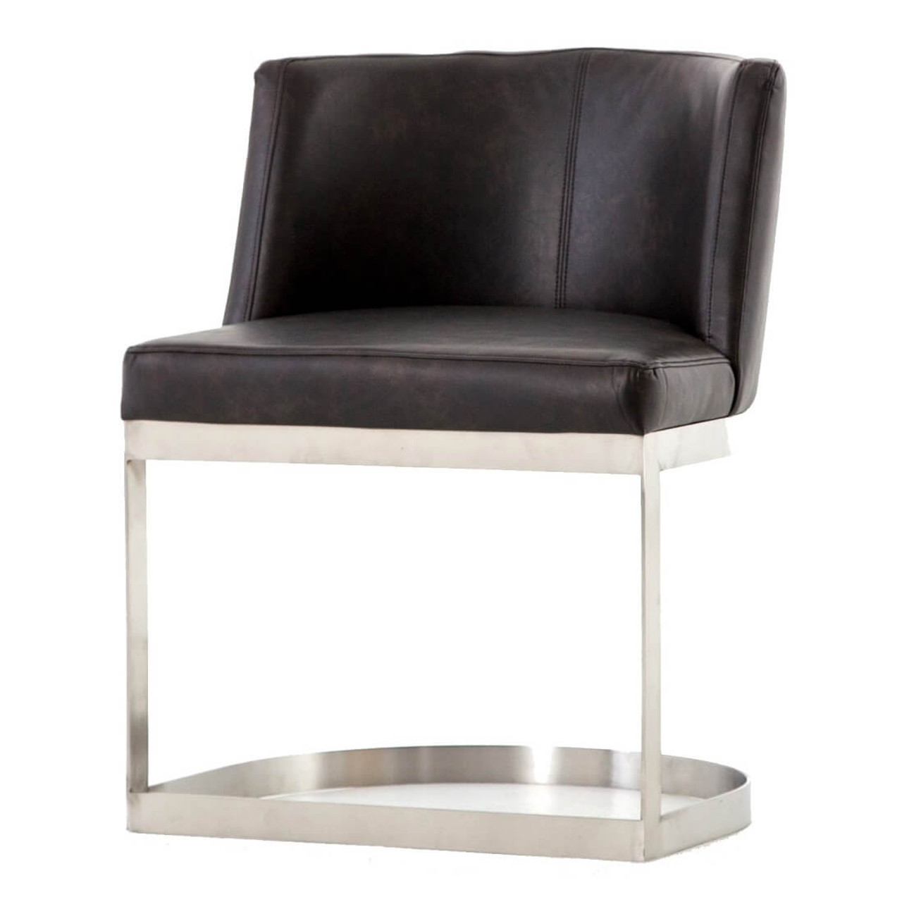 modern leather dining chairs with arms hans wegner ch25 chair wexler black zin home fourhands