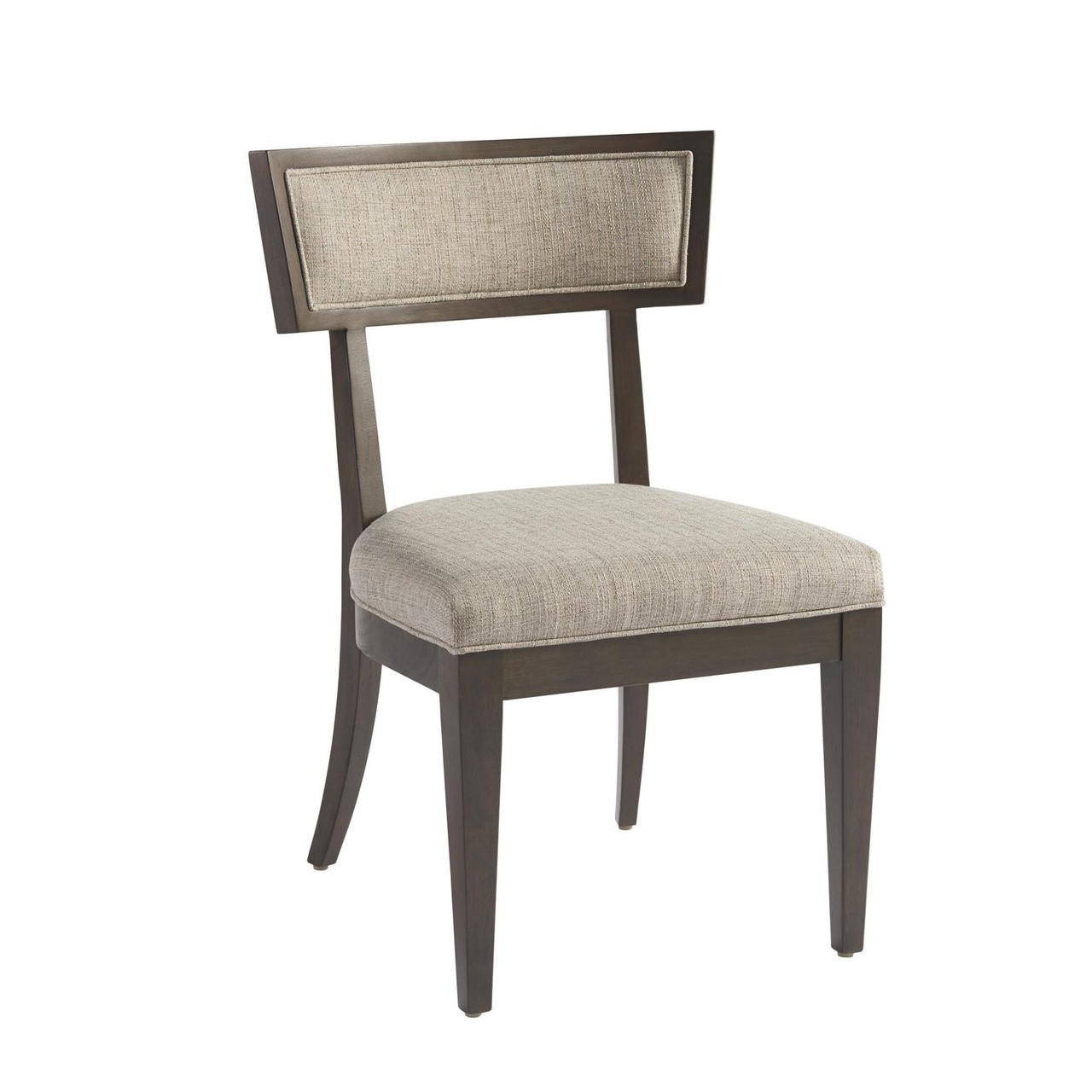 Curved Back Chair Ambrose Curved Back Upholstered Dining Chair